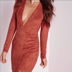Missguided Suede Dress